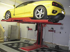 Single Post Car Lifts Comparison Rad Lifts